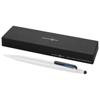 Trigon stylus ballpoint pen in white-solid