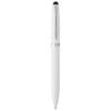 Brayden stylus ballpoint pen in white-solid