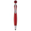 Naples stylus ballpoint pen in red