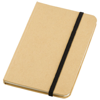 Dictum notebook in natural-and-black-solid