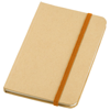 Dictum notebook in natural-and-orange