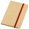 Dictum notebook in natural-and-red