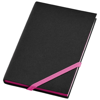 Travers small hard cover notebook in neon-pink