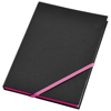 Travers hard cover notebook in neon-pink