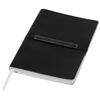 Stretto A5 soft cover notebook in black-solid