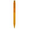 Huron Ballpoint Pen in transparent-orange