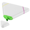 Bermudian triangle-shaped highlighter in white-solid
