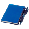 Air notebook and pen in transparent-blue