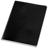 Gallery A5 soft cover notebook in black-solid