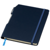 Panama A5 hard cover notebook with pen in navy