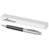 Averell ballpoint pen in black-solid-and-silver