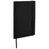 Classic A5 soft cover notebook in black-solid