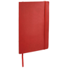 Classic A5 soft cover notebook in red