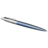 Jotter Ballpoint Pen Waterloo Blue CT in blue-and-silver