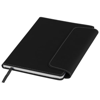 Horsens A5 notebook with stylus ballpoint pen in black-solid