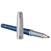 Urban Premium rollerball pen in blue-and-silver