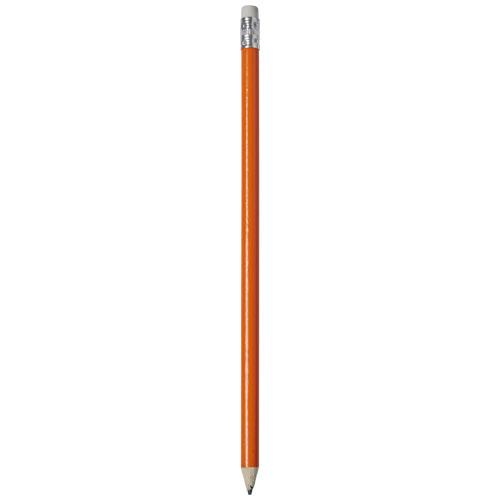 Alegra pencil with coloured barrel in orange