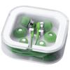 Sargas lightweight earbuds in green