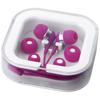 Sargas lightweight earbuds in pink