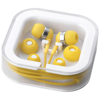 Sargas lightweight earbuds in yellow