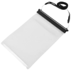 Splash tablet waterproof touch screen pouch in black-solid-and-transparent
