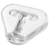Rebel earbuds in white-solid