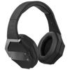 Optimus foldable Bluetooth® headphones in black-solid
