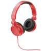 Rally foldable headphones in red