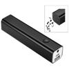 Bran Bluetooth® power bank and speaker in black-solid
