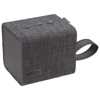 Fortune Fabric Bluetooth® Speaker in black-solid-and-grey