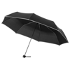 21'' 3-section umbrella in black-solid