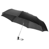 Alex 21.5'' foldable auto open/close umbrella in black-solid