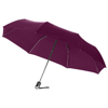 Alex 21.5'' foldable auto open/close umbrella in dark-red