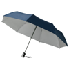 Alex 21.5'' foldable auto open/close umbrella in navy-and-silver