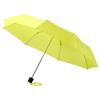 Ida 21.5'' foldable umbrella in neon-green