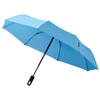 Trav 21.5'' foldable auto open/close umbrella in blue
