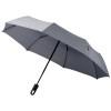 Trav 21.5'' foldable auto open/close umbrella in grey