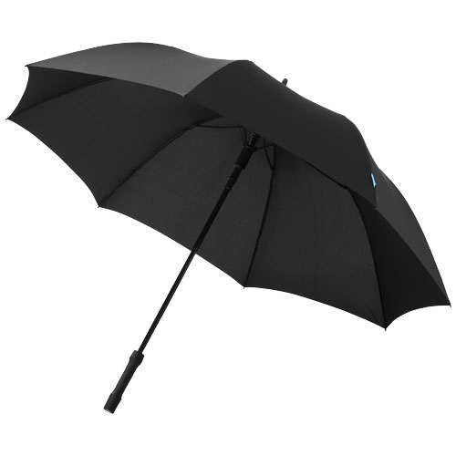 A-Tron 27'' auto open umbrella with LED handle in black-solid
