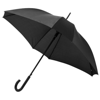 Neki 23.5'' square-shaped auto open umbrella in black-solid
