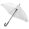 Neki 23.5'' square-shaped auto open umbrella in white-solid