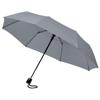 Wali 21'' foldable auto open umbrella in grey