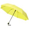 Wali 21'' foldable auto open umbrella in neon-green