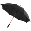 Stark 23'' windproof auto open umbrella in black-solid-and-red