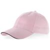 Challenge 6 panel sandwich cap in pink