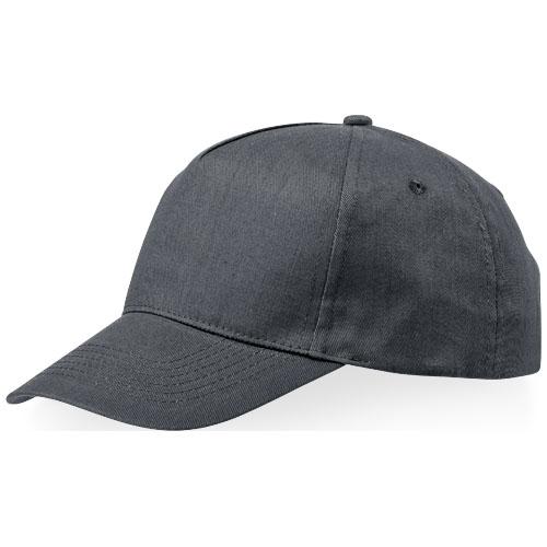 Memphis 5 panel cap in grey