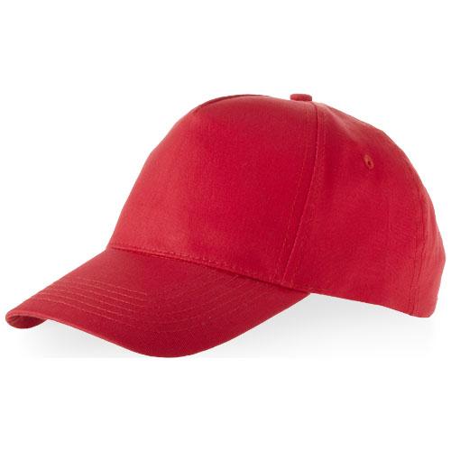 Memphis 5 panel cap in red