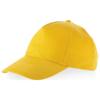 Memphis 5 panel cap in yellow