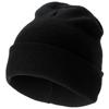 Irwin beanie in black-solid