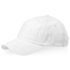 Apex 6-panel cap in white-solid
