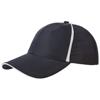 Momentum 6-panel cool fit sandwich cap in navy